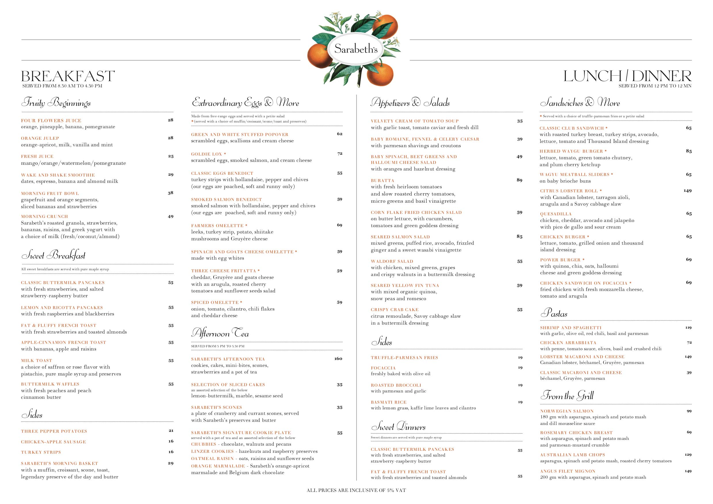 SARABETH'S-ONE-MENU-ENG